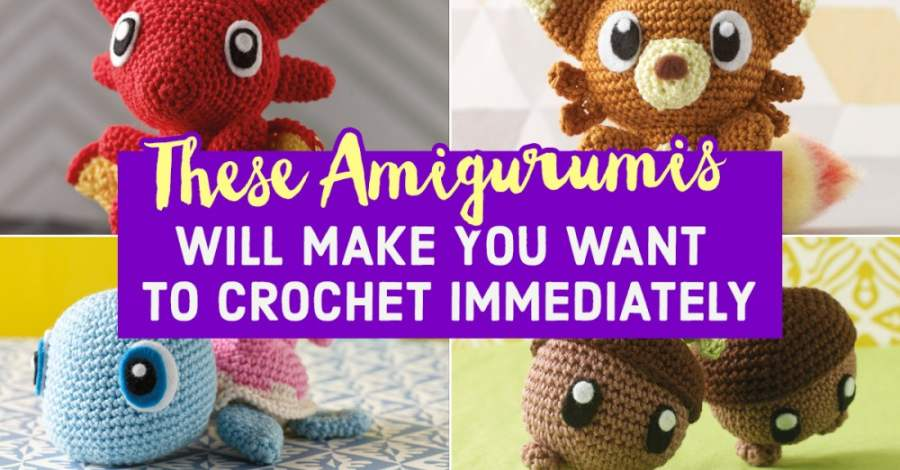 THESE AMIGURUMIS WILL MAKE YOU WANT TO CROCHET IMMEDIATELY