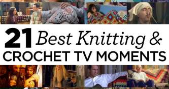 21 Best Knitting and Crochet Moments in TV and Film