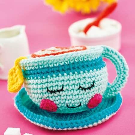 MILKSHAKE - Crochet Amigurumi Pattern - Crochet Food Tutorial ... | 450x450
