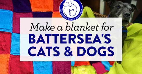 Make a blanket for Battersea's cats and dogs