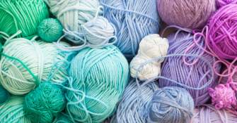A Designer Yarn Bundle Worth £130