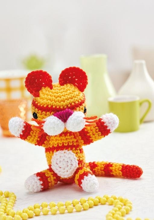 Amigurumi tiger toy Crochet Pattern