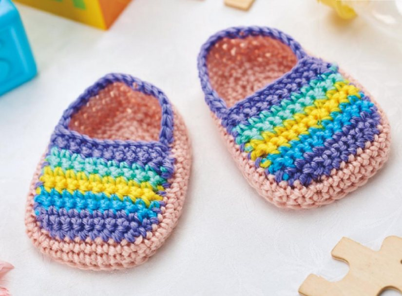 Baby espadrilles Crochet Pattern