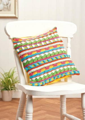 Bobble Cushion Pattern