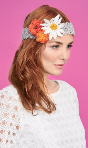 Broomstick crochet headband Pattern