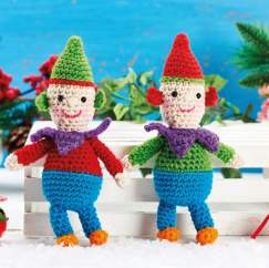 Christmas Crochet-Along Part 2: Elf Duo