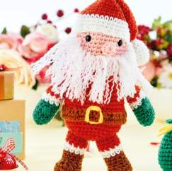 Christmas Crochet-Along Part 1: Santa Claus