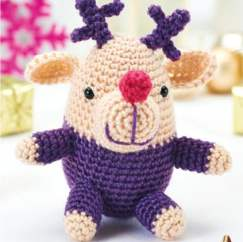 Christmas reindeer toy