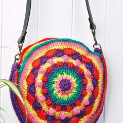 Circular Shoulder Bag