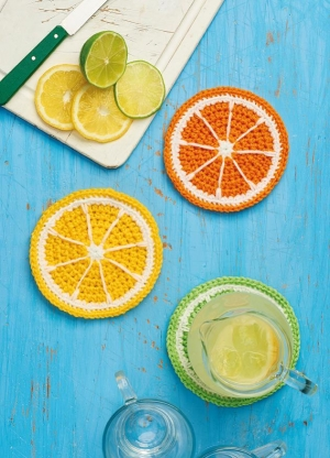 Citrus Coasters Pattern