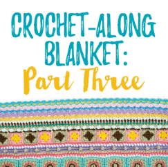 Crochet-Along Blanket: Part Three