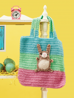 Easter Bunny Tote Bag Pattern