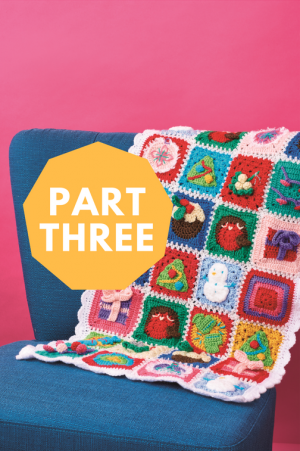 Christmas Blanket: Part 3 Pattern