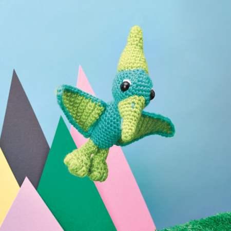 Pterodactyl Dinosaur Toy Top Crochet Patterns