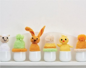 Egg cosies Pattern