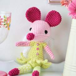 Fairy mouse toy