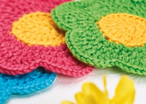 Flower Coasters Pattern