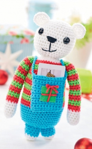 Gift card teddy Pattern
