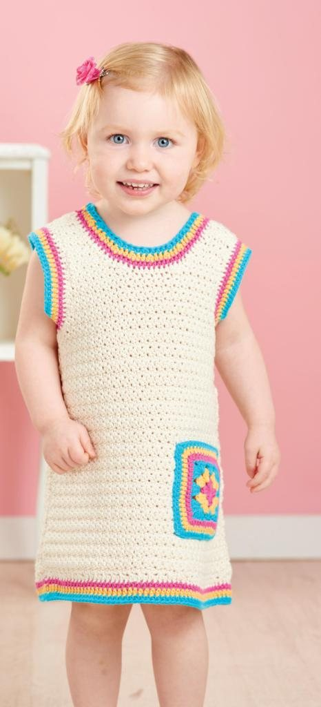 Girl's Pinafore Dress