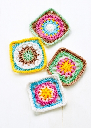 Granny Square Series Part Three Pattern