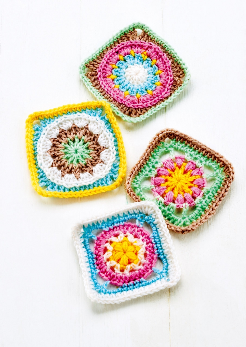 Granny Square Series Part Three