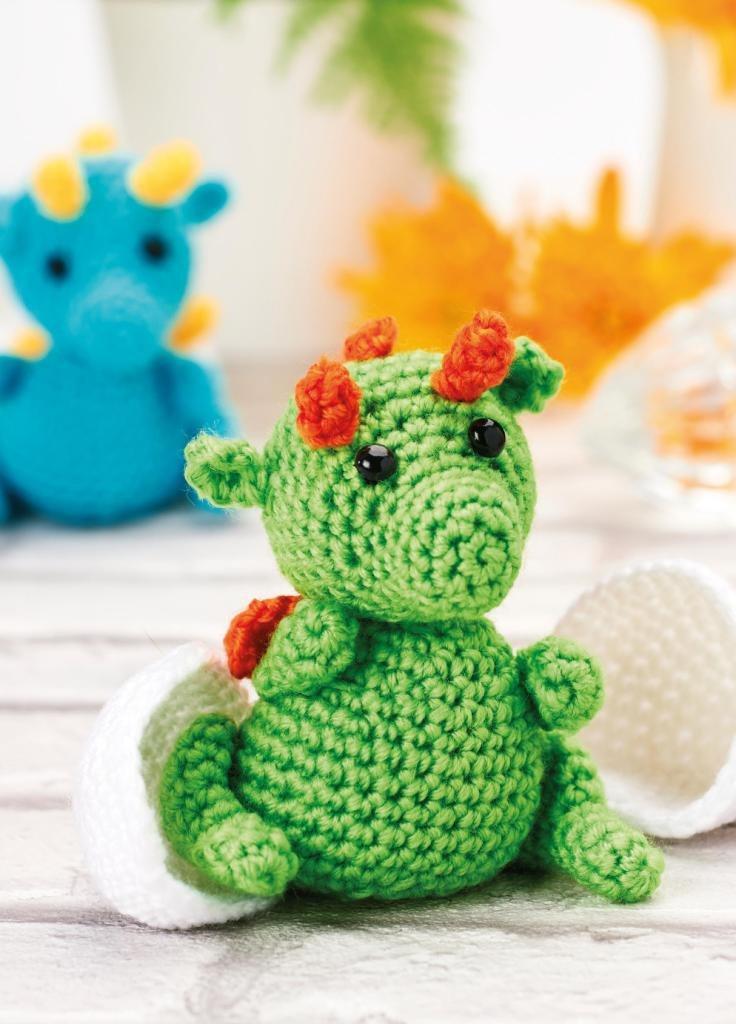 Crochet Dragon Egg Pattern Free : Hatching Dragons Crochet Pattern