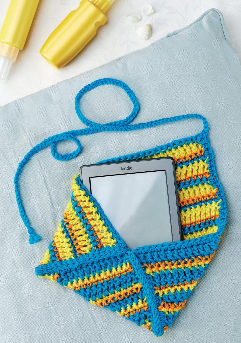 crochet kindle case crochet pattern