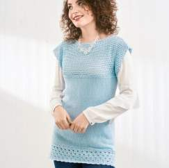 Knit and Crochet Tunic
