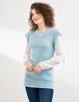 Knit and Crochet Tunic Pattern