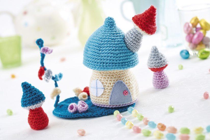 Amigurumi Fairy Patterns Free : Fairy Garden Crochet Pattern