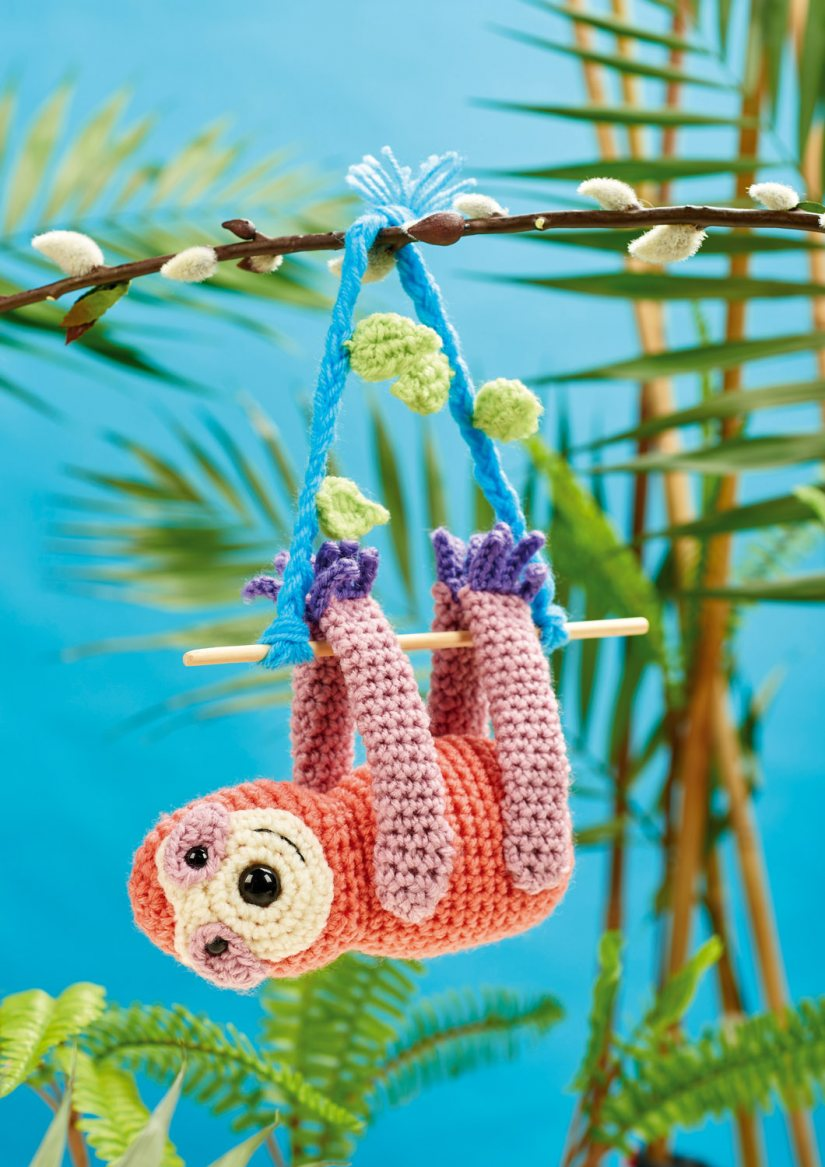 Top Crochet Patterns Speedy Sloth