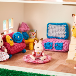 Doll's House Furniture Crochet-Along: Part 1