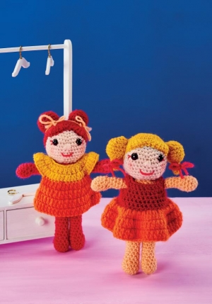 Mix 'n' Match Dolls Pattern