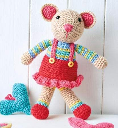 How to crochet Tilda doll / Large doll crochet - YouTube | 450x415