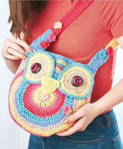 Owl Tote Bag Crochet Pattern