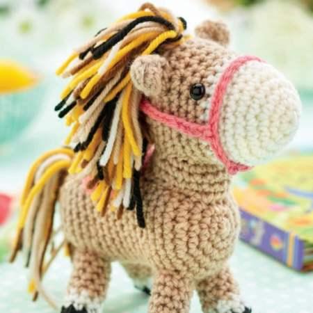 Cuddle Me Pony amigurumi pattern | Crochet animals free patterns ... | 450x450