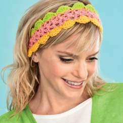 Scalloped Hairband