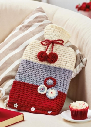 Scandi Hot Water Bottle Cover Pattern
