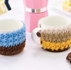 Striped Mug Cosies