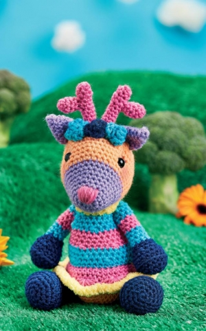Woodland Deer Toy Pattern