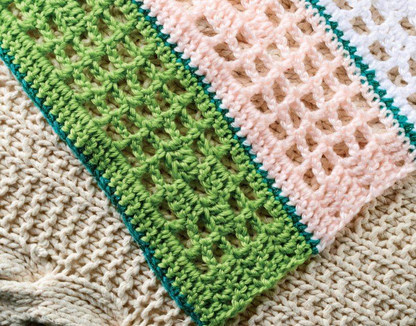 Filet Crochet Blanket
