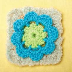 Magical circle granny square