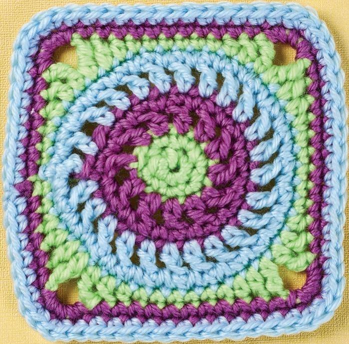 Top Crochet Patterns Circle Granny Square