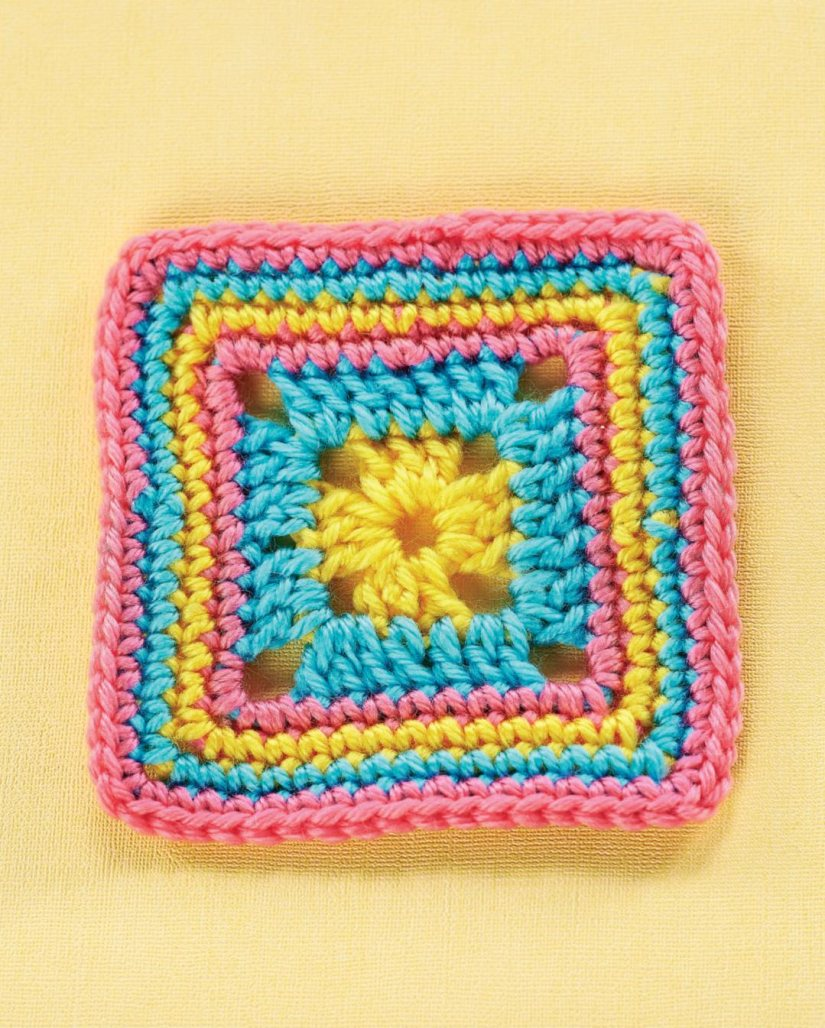 Top Crochet Patterns Simple Granny Square