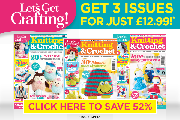 Amigurumi Magazine Subscription : Sampler blanket Crochet Pattern
