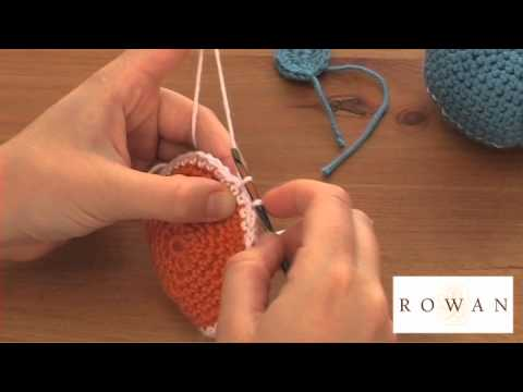 How to Crochet: amigurumi (2), with Rowan Yarns and Purplelinda Crafts