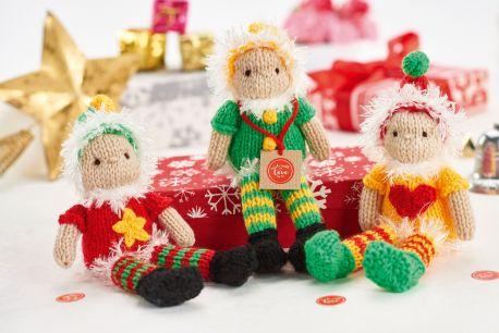 http://www.letsknit.co.uk/free-knitting-patterns/christmas-elves
