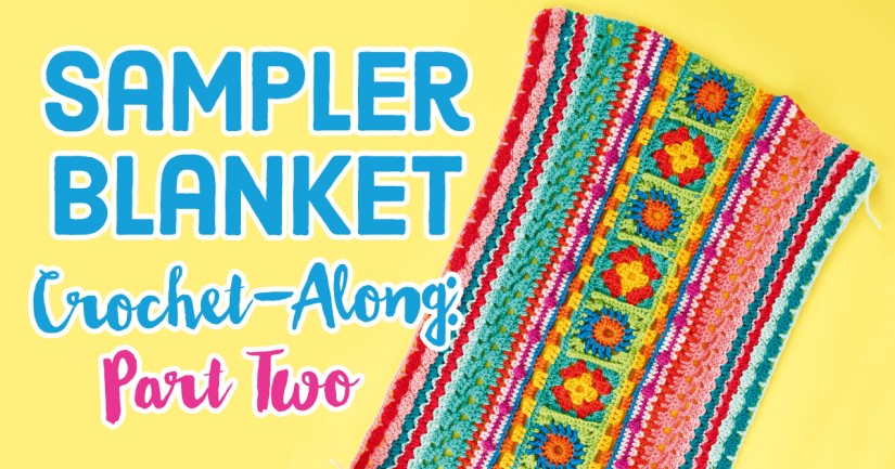 https://www.topcrochetpatterns.com/free-crochet-patterns/sampler-blanket-crochet-along-part-two