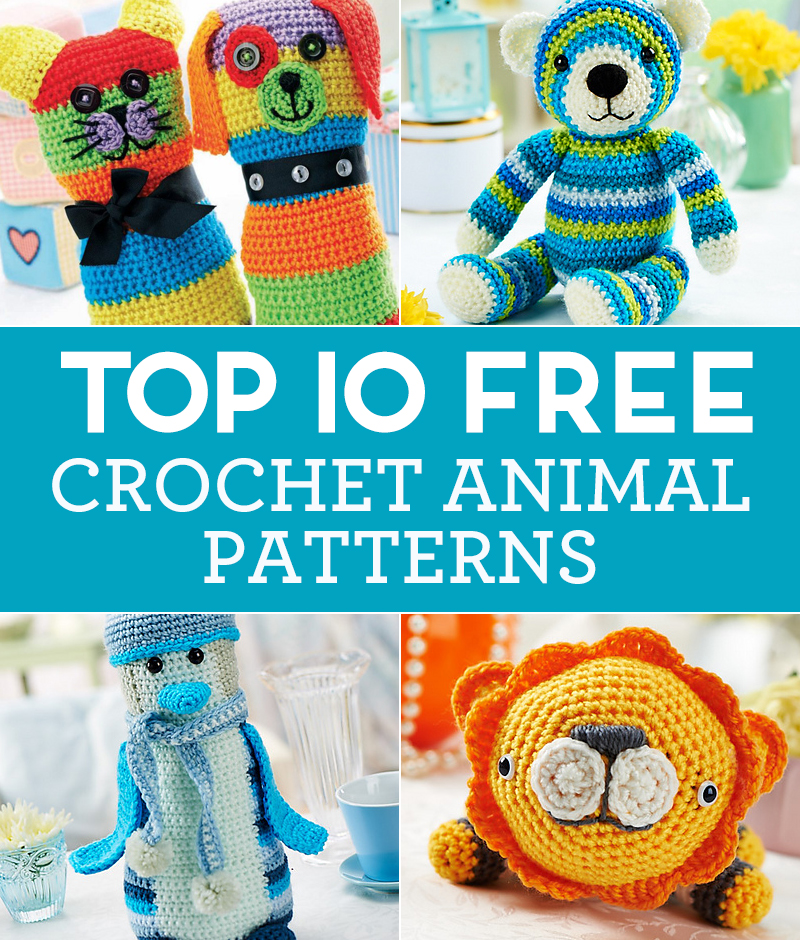 Crochet Animal Bag Free Pattern : Top 10 FREE Crochet Animal Patterns Top Crochet Pattern Blog