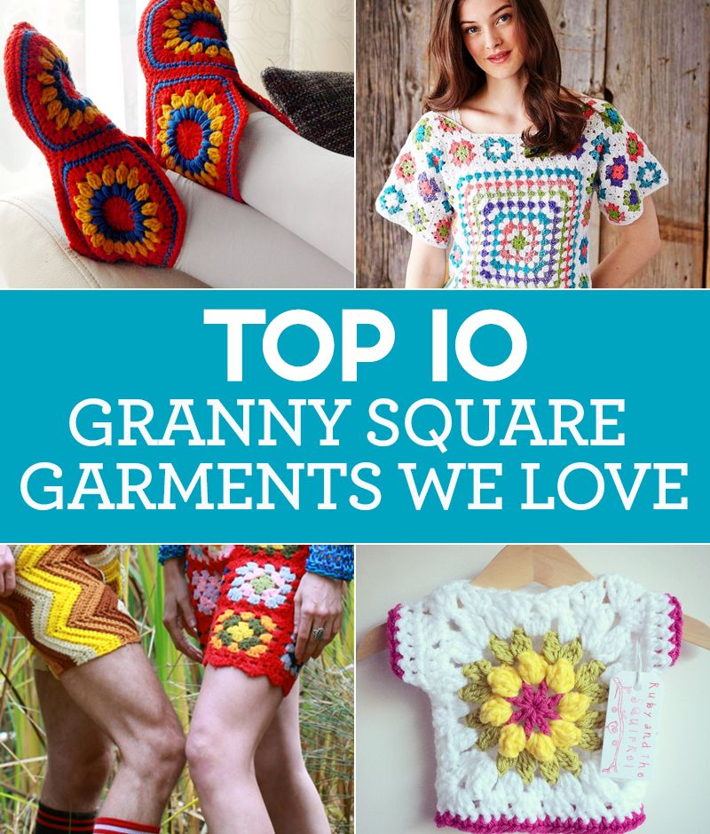10 Granny Square Garments We Love Top Crochet Patterns Blog